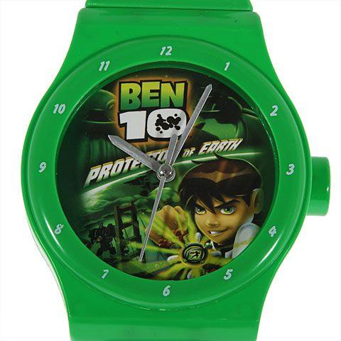 Plastic Wrist Watch Shape Style Wall Clock ben 10 Hello Kitty Kids