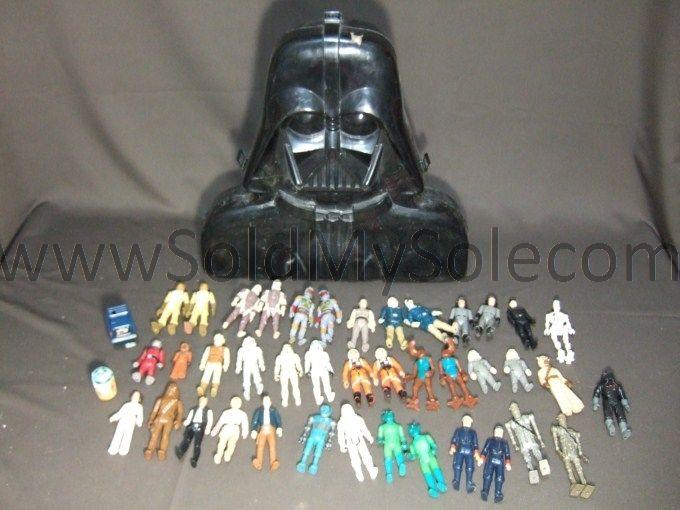 Star Wars Empire Strikes Back Darth Vader Accessory Storage Chamber w