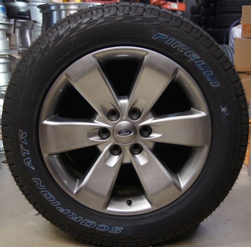 2012 Ford F150 F 150 FX4 20 Factory OEM Wheels Rims Tires Expedition